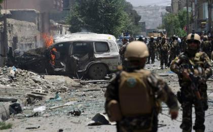 Kabul bomb blast, 40 police officer died