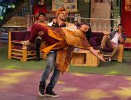 Varun Dhawan performed as Tahir Shah's Angel on Kapil Sharma show