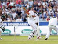 Cricket: England v Pakistan 2nd Test scoreboard