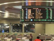Hong Kong shares end marginally lower