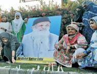 Glowng tribute paid to Edhi at Preston Universty