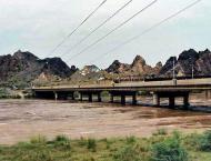 Rivers Indus, Ravi, Kabul flow in low flood