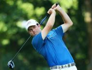 Golf: Streb fires 63 to share PGA lead as Day charges