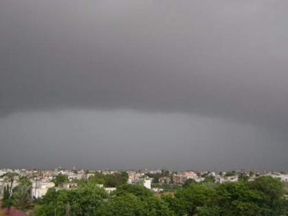 Met forecast rain-thundershower today