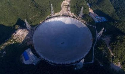 China completed world's biggest radio telescope in Guizhou