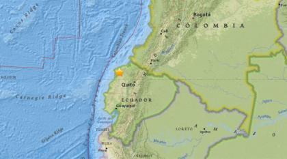 Ecuador shook with twin strikes of earthquake