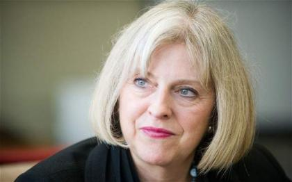Theresa may took oath as Britain PM