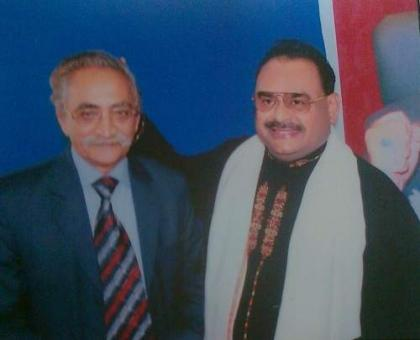 MQM senior Leader Shoaib Bukhari died today