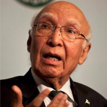 Kashmiris demand for self-determination is not terrorism: Sartaj Aziz