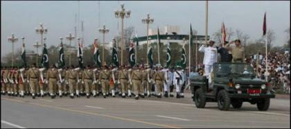 Flag march by army, civil law enforcement agencies staged in Mirpur