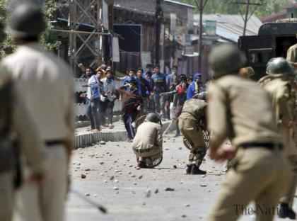 Indian forces oppressing unarmed, innocent Kashmiris: Mushahidullah