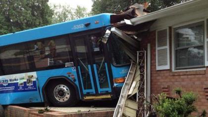 Lodhran: A passenger bus got crashed in a house