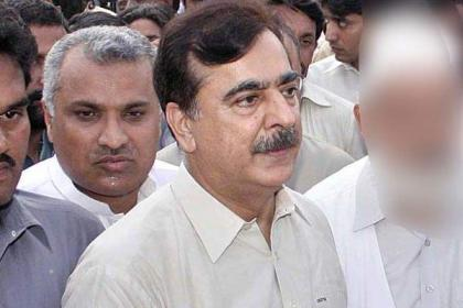 Yousuf Raza Gilani visits Edhi centre