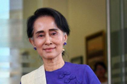 Myanmar's Suu Kyi to visit the US: gov't
