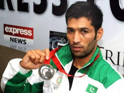 Pakistani Boxer Muhammad Waseem returned after winning the title of WBC