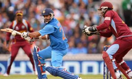 Cricket: India win toss, bat against West Indies