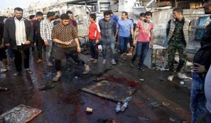 Suicide bomber kills 10 north of Baghdad: officials