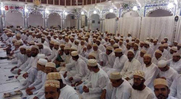 Bohri community celebrated Eid-ul-fitr today in Karachi