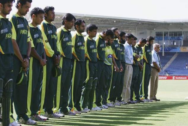 Pakistan cricket team produced one minute silence in the memory of Abdul Sattar Edhi