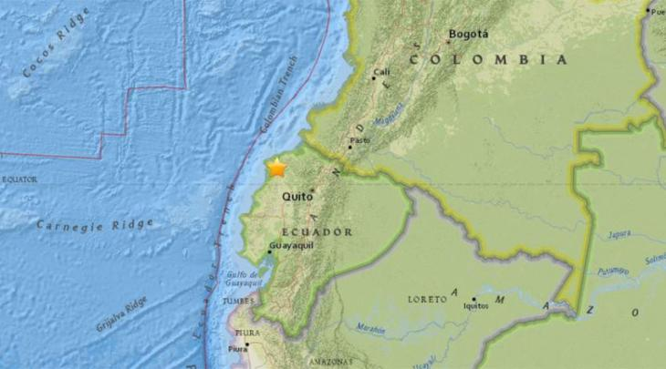 Ecuador shook with twin strikes of earthquake