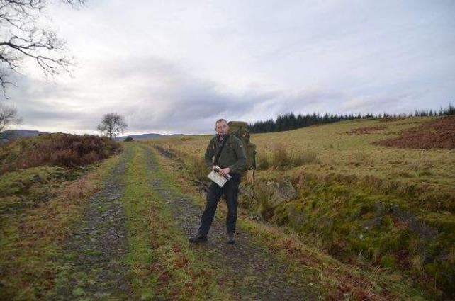 Man has been hiding food for 20 years in remote woodland in preparation for the catastrophe