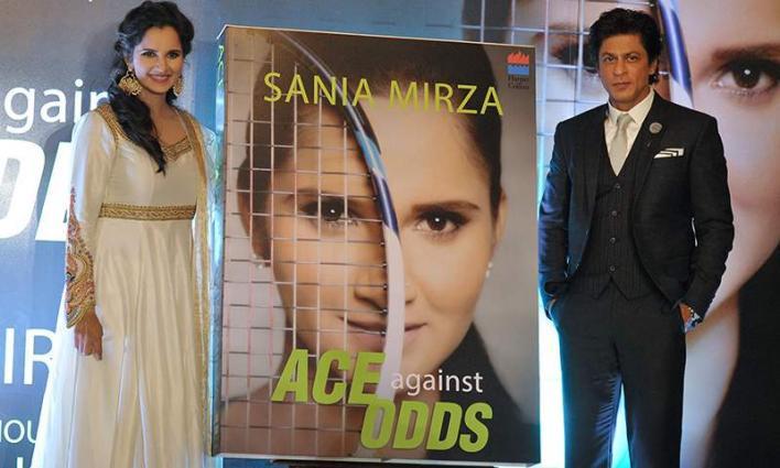 'Sania Mirza is Racket Queen', Shahrukh Khan