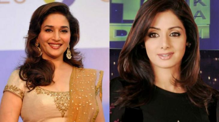 Madhuri's tribute to Sri Devi