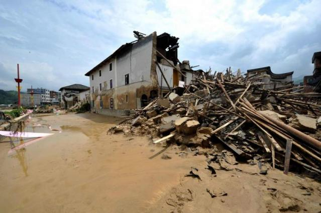 69 killed in destructive storms in China