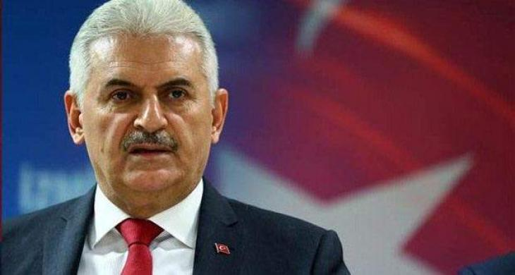 The mutiny is a black scar on Turkish history, Turkish PM Binali Yildrim