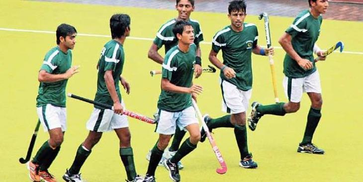 National Junior Pakistani Hockey Team departed for the Four Nation tournament