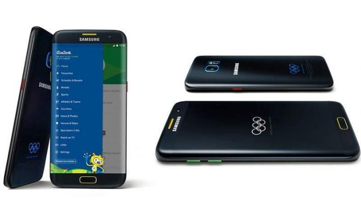 Samsung introduced a special phone for Olympic