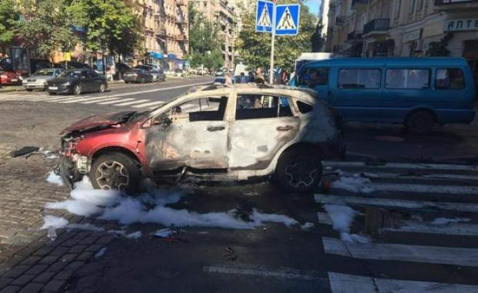 Renowned journalist killed in Kiev car bomb
