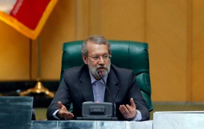 Iran speaker says US undermining nuclear deal, failing against IS