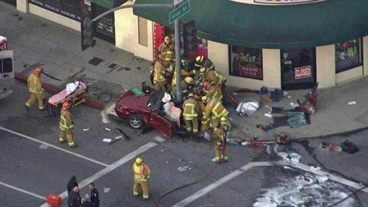 Boy dies, 2 hurt in accident