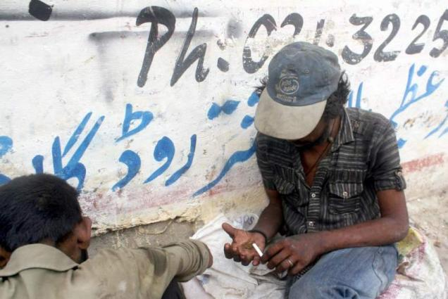 50 drug addicts sent to rehab in Peshawar