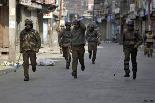 Curfew continues in IOK to prevent demos on Black Day