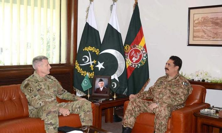Commander Resolute Support Mission calls on COAS
