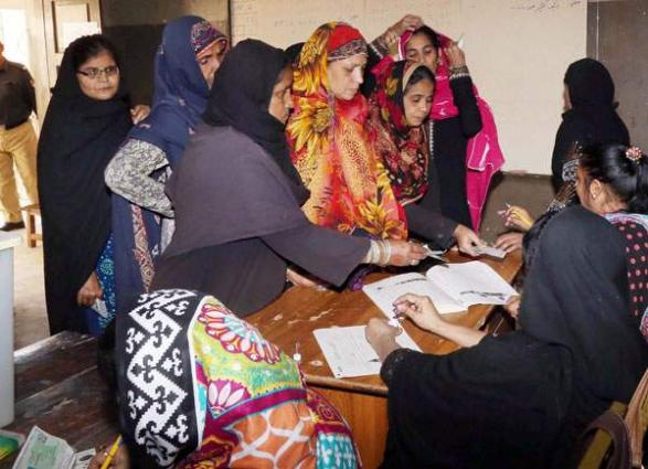 Overall smooth polling in progress for 41 seats of AJKLA