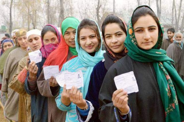 Great enthusiasm of female voters witness in AJK elections