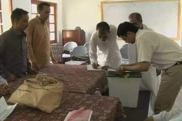 Polling for AJK elections underway