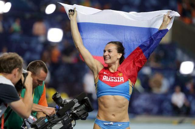 Olympics: Russian pole vaulter Isinbayeva says CAS ruling 'funeral' 