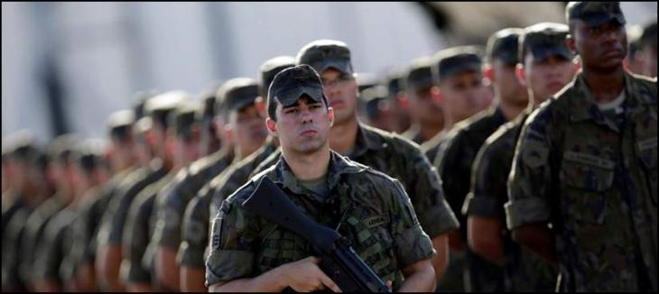 Army deployed for the security of Olympics in Brazil