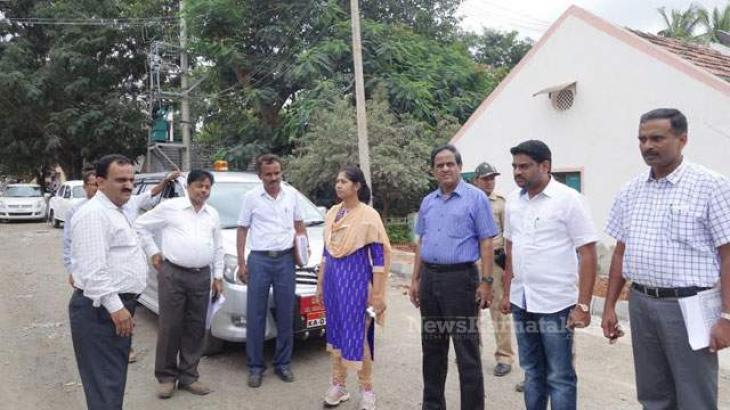 Deputy Commissioner inspects various development schemes