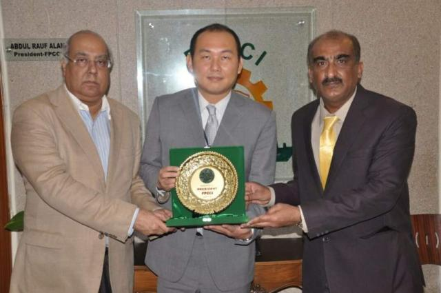 FPCCI appreciates Chinese role in socio economic development of