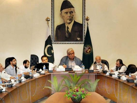 Governor KP presides 2nd meeting of Senate of Agriculture Varsity Peshawar
