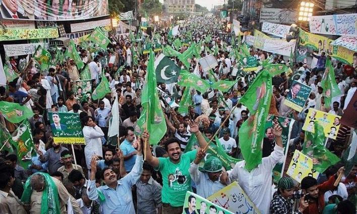 PML-n got a triumphant achievement in Azad Kashmir Elections.