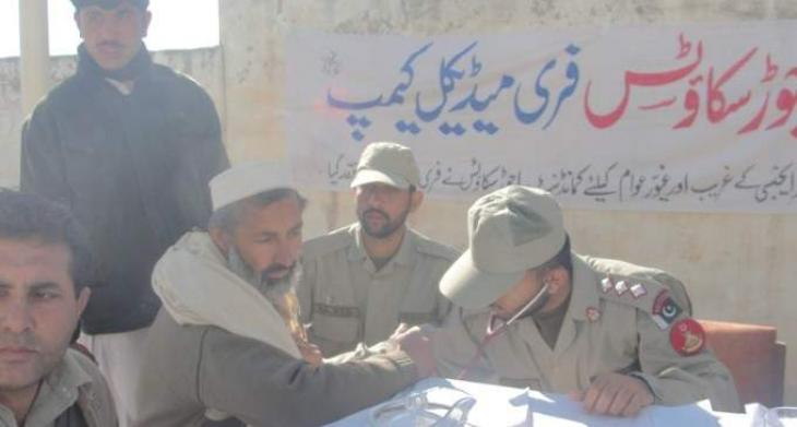 Free medical camp held in Bajaur