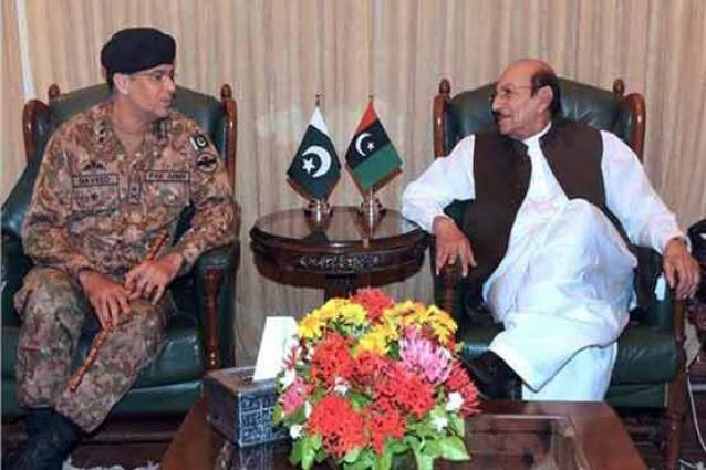 CM Sindh meets rangers core commander