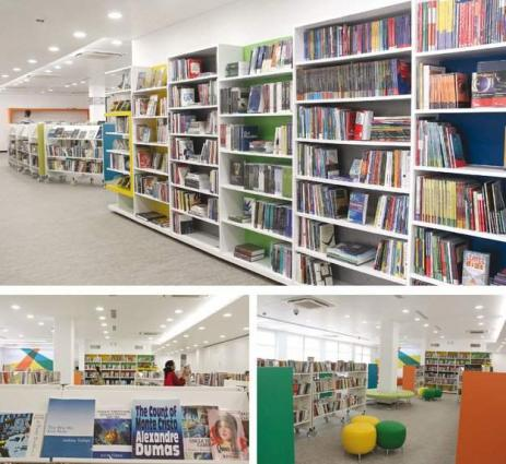 Good news for book lovers, British Council Library reopened