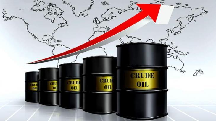 Rising prices of Crude oil